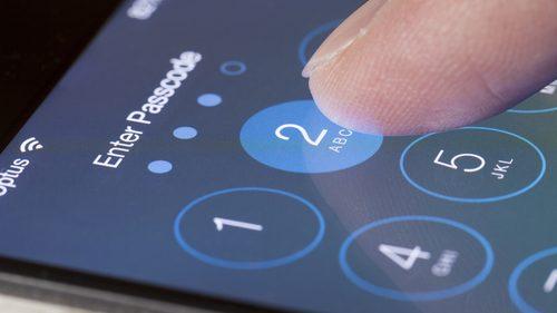 Mobile phone password
