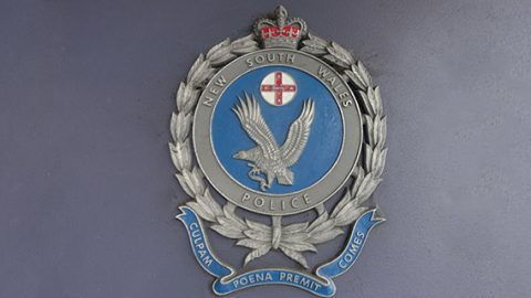 NSW Police sign