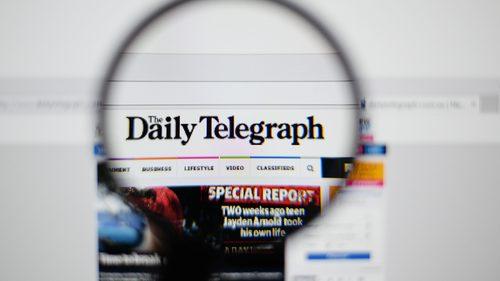 Telegraph newspaper