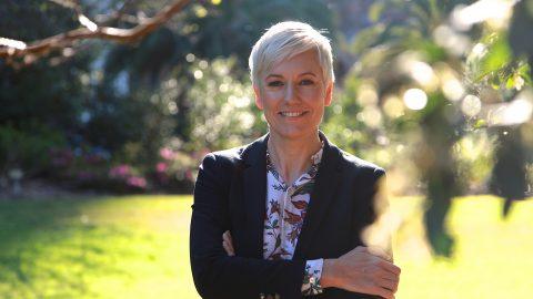 NSW Greens MLC Cate Faehrmann