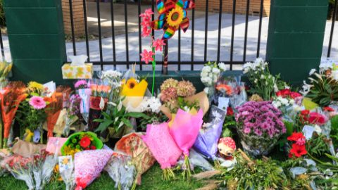 Christchurch memorial flowers