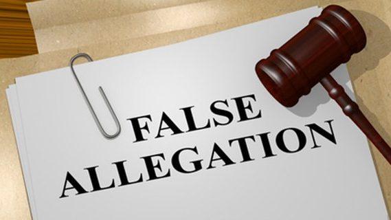 False Allegations file