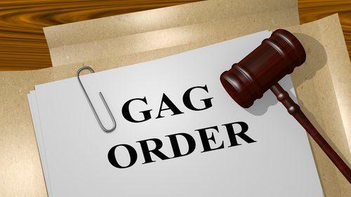 gag order