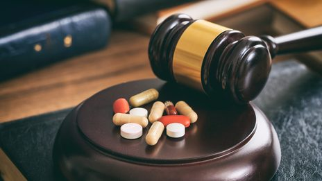 Gavel and drugs