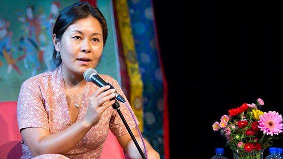 Australia Tibet Council's Kyinzom Dhongduem