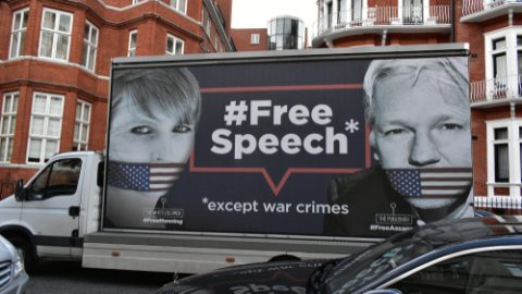 Assange free speech