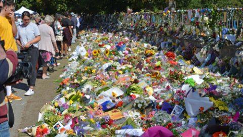 Christchurch massacre flowers