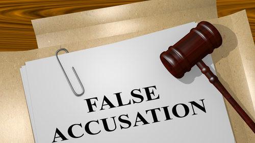 False accusation