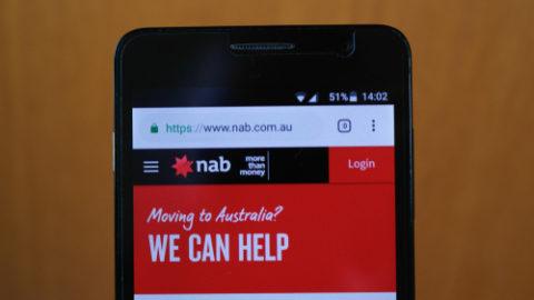 NAB banking app