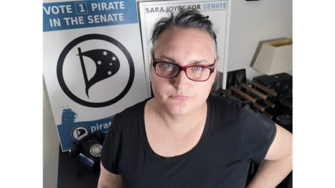 Pirate Party's Sara Joyce