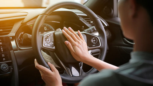 Driver horn