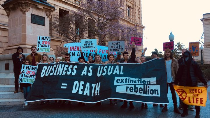 Extinction Rebellion in Sydney