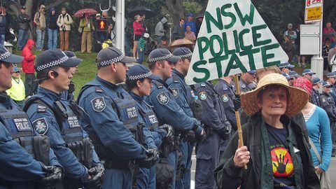 NSW police activists