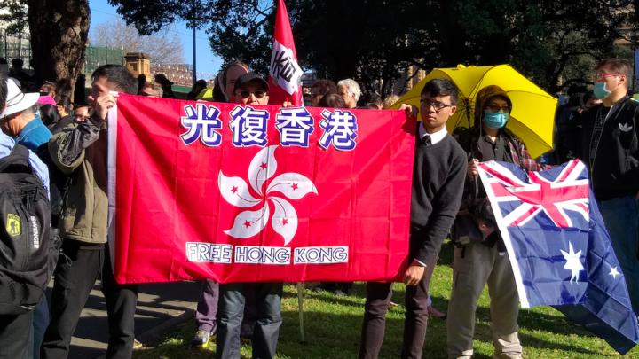 Hong Kong Protester Silver Lee