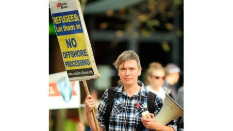 Socialist Alliance's Rachel Evans