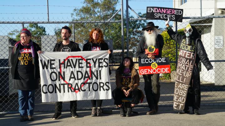 Adani blockade