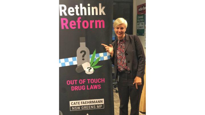 NSW Greens pill testing