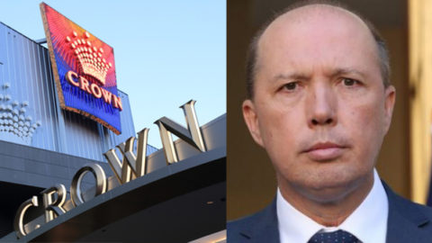 Peter Dutton and Crown Casino