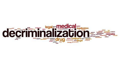 Drugs decriminalise