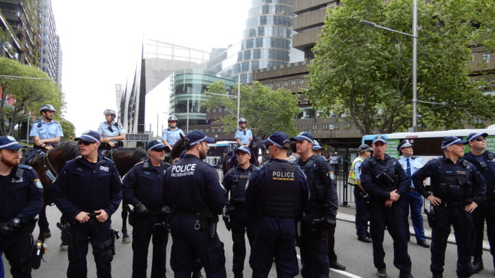 Police in the city
