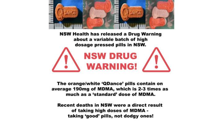 NSW drug warning