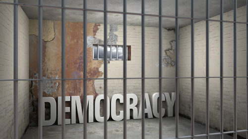 Democracy prison