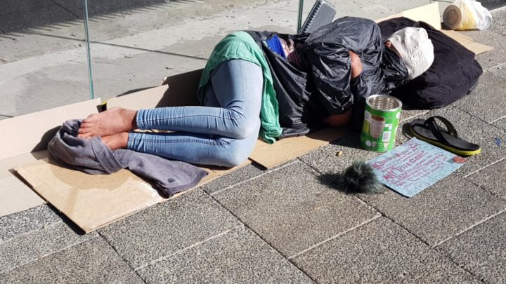 Homeless people in 2020