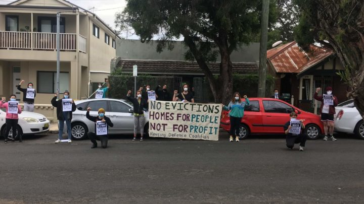 Housing protest