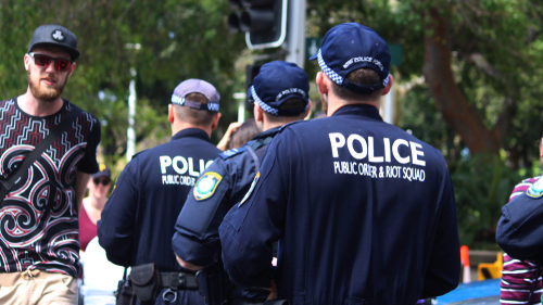 NSW Police riot