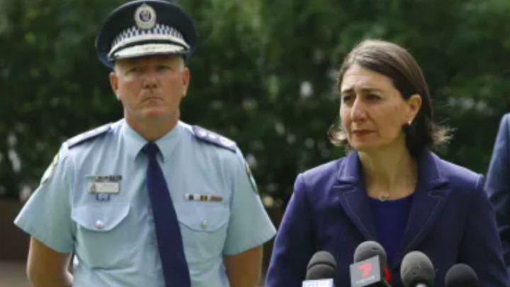NSW Police Chief in the media