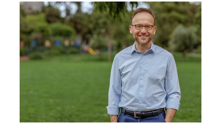 Australian Greens Leader Adam Bandt