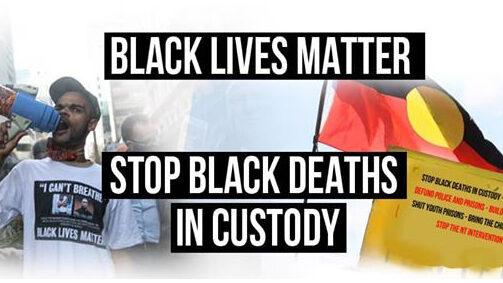 Black lives matter in Australia