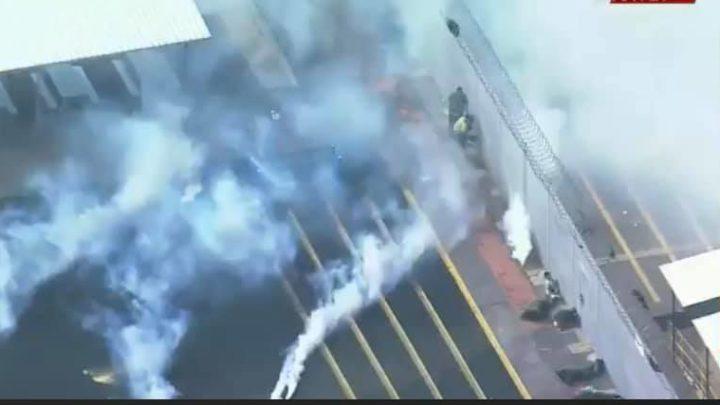 BLM smoke bombs