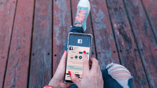 Facebook walking