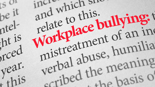 Workplace bullying