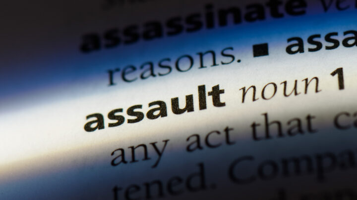 Assault in dictionary