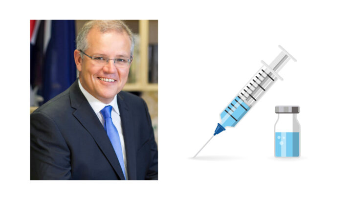 Morrison and Covid Vaccine