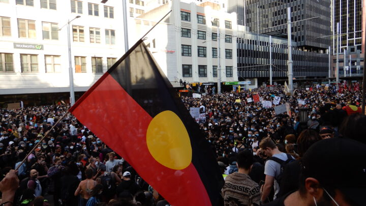 BLM protest in Sydney