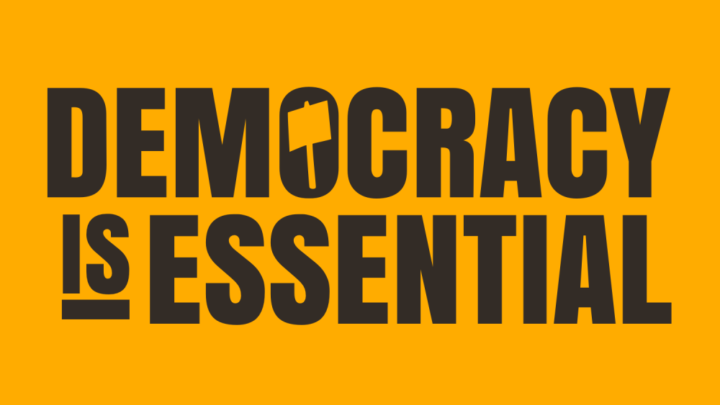 Democracy is essential
