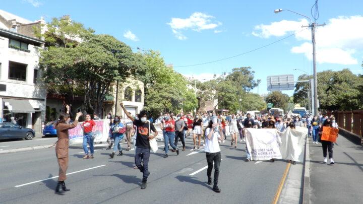 Protests at Sydney Uni