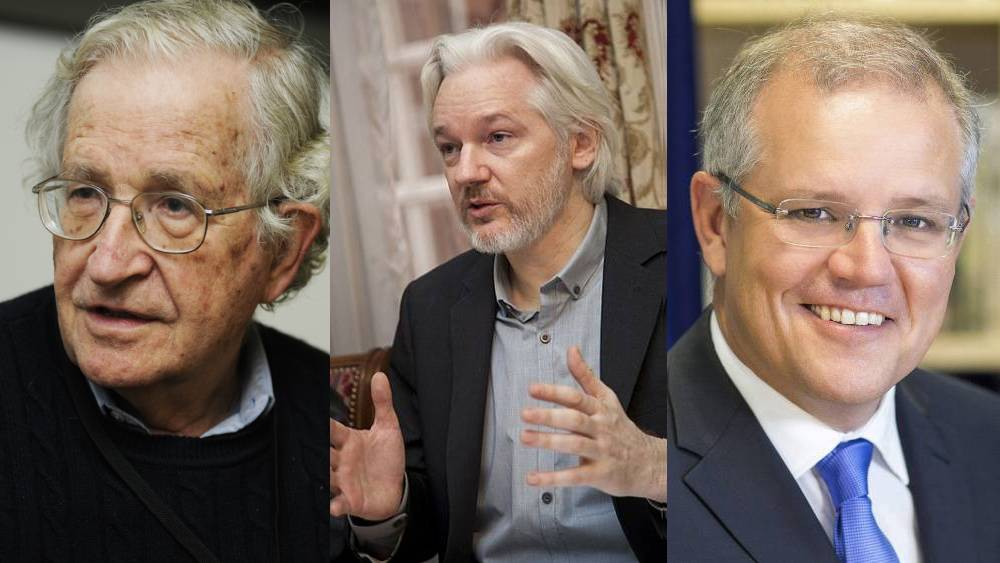 "Chomsky on the Plight of Assange: ""The Complicity of Many Governments"""