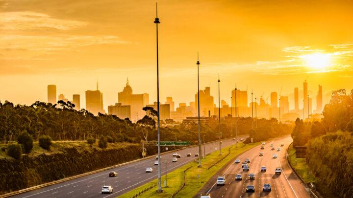 Eastern Freeway Melbourne