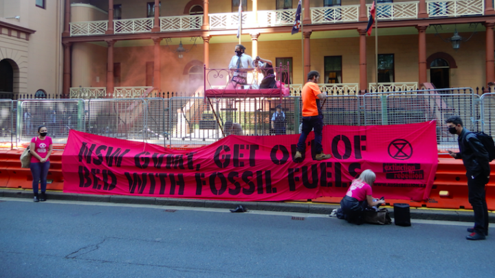 Fossil fuels get out of bed