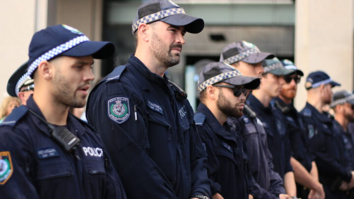 Police during COVID
