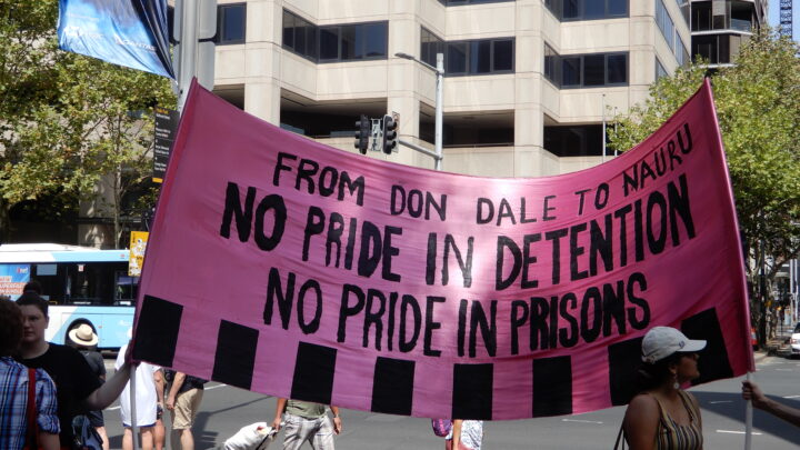 Pride in protest on invasion day