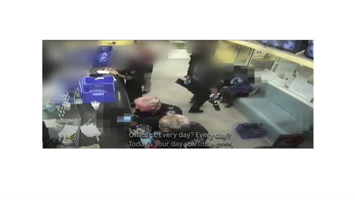 Officer assault boy