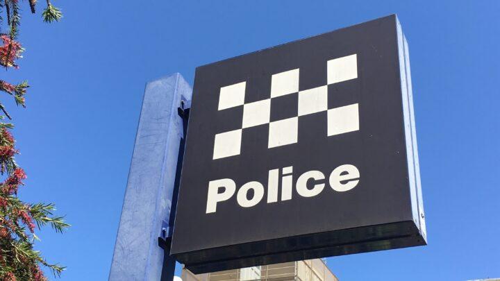 Police logo sign