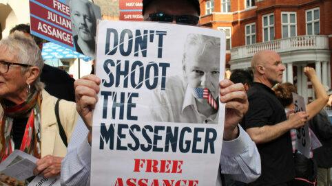 Assange don't shoot the messenger