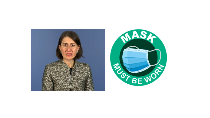 Gladys makes masks mandatory
