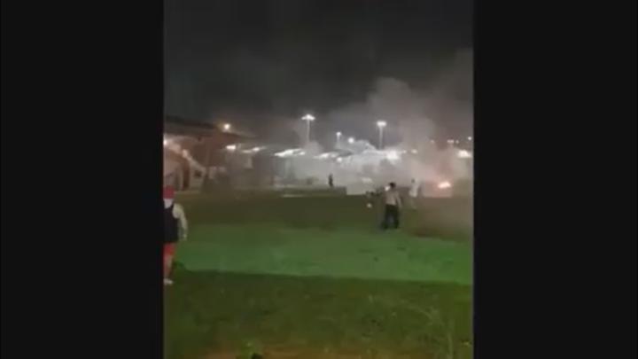 Xmas Island riot